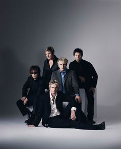 duran duran 2003 - The original line up, with Andy Taylor.