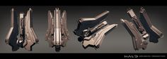 Halo test sculpt - Forerunner architecture.