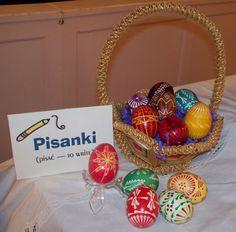 Pisanki Polish Easter Eggs Polish Easter, Egg Designs, Poland, Ukraine, Easter Eggs, Christmas Bulbs, Arts And Crafts, Drop, Crafty