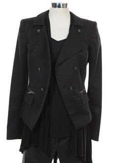 Kelly's Black Outfit - Current price: $300 Hollywood Homes, Grimm, Wardrobes, Favorite Tv Shows, Coat, Jackets, Outfits, Black, Fashion