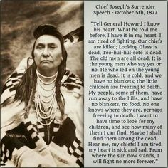 Chief Joseph, Native American name In-mut-too-yah-lat-lat, (born c. Native American Prayers, Native American Symbols, Native American Women, Native American History, Native American Indians, Cherokee History, American Indian Quotes, Native American Quotes, Native American Art