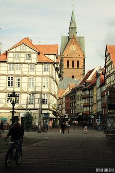 Hannover, Germany. Loved living here