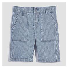 926e75108f Kid Boys' Railroad Shorts from Joe Fresh. These cotton slim fit railroad  shorts are