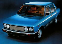 The facelifted Fiat 132 never produced.