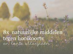 8x Natuurlijke middelen tegen hooikoorts!