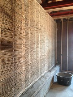 Compact Living, Wooden House, Architecture Details, Home Projects, Tiny House, Blinds, Bamboo, Shed, Home And Garden