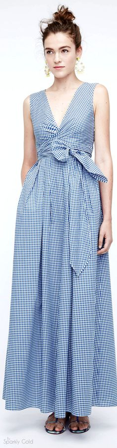 J.Crew Spring 2016 women fashion outfit clothing style apparel @roressclothes closet ideas