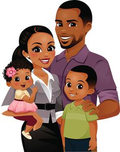 Choose from 60 top Black Family stock illustrations from iStock. Find high-quality royalty-free vector images that you won't find anywhere else. Black Couple Art, Black Love Art, Black Girl Art, Black Couples, My Black Is Beautiful, Art Girl, Black Girl Cartoon, Black Family Cartoon, Afrique Art