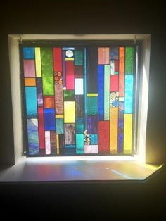 multi-colored-square-stained-glass-window-675x900.jpg (675×900)