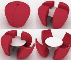 diseño de muebles 8 Diseño de Interiores: Increíbles diseños de muebles y objetos para interiores