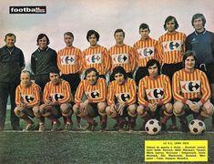 R.C LENS 1972-73.