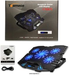 Owing a great Laptop Cooling pad is essential if you desire a great Gaming experience. Cooling Pad from Topmate gives good air movement around the laptop and protects it from harmful heat. Outside Fans, Laptop Cooling Fan, Laptop Cooler, Led Bleu, Best Gaming Laptop, Neck And Back Pain, Blue Led Lights, Usb Hub, Pad
