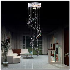 Hot selling Crystal Ceiling Light Fixture / Lamp Spiral Crystal Lamp for Hallway bedroom MD3037 D220mm H660mm-أنوار السقف-معرف المنتج:60045398495-arabic.alibaba.com