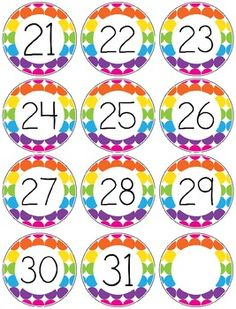 In this FREEBIE, you will find a nice sample of my Rainbow Dots Classroom Theme Pack. (Will be available no later than It includes upper and lower case circle cards, number cards for the… Circus Classroom, Polka Dot Classroom, Classroom Helpers, Classroom Posters, Classroom Displays, Kindergarten Classroom, Classroom Themes, School Classroom, Classroom Organization