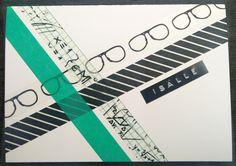 Isänpäivä kortti washi teippi
