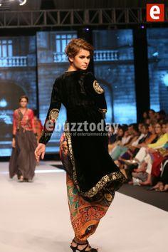 Nida Azwer Collection at Fashion Pakistan Week Autumn/Winter 2014 - Entertainment News by EbuzzToday