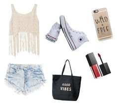 """""""Wild & Free"""" by lexeigrayce ❤ liked on Polyvore featuring Converse, Smashbox, Venus and Casetify"""