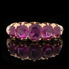 Victorian Ruby Yellow Gold Ring - Jewelry from 66mint.com