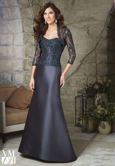 vestidos de madre de la novia   Vestidos elegantes para la madre de la novia de Mori Lee
