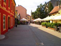 Tkalčićeva street Croatia, Sidewalk, Street, Side Walkway, Walkway, Walkways, Pavement