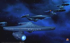 ships of the line by gazzatrek.deviantart.com on @deviantART Enterprise Variants.