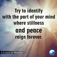 Sending peaceful loving thoughts to you right now :) - Course In Miracles excerpt http://www.the-course-in-miracles.com/freecourse