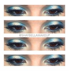 Urban Decay Electric Palette / Naked 1 Summer Eyeshadow Look with Green & Gold