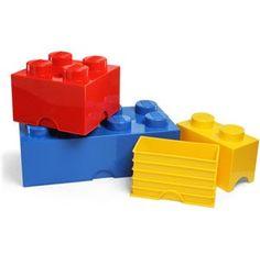 Boites de rangement LEGO - Rangement fun pour enfants. Via #thisgacom