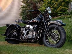 Harley Knucklehead Springer