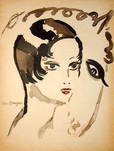 Kees van Dongen – uitzonderlijk | Alnorum Art Rosa l'ecuyere Techniek: Pochoir Jaar van uitgifte: 1930 Gesigneerd in het werk Afmetingen: 35 cm x 25 cm (papier) Beschikbaar in de collectie
