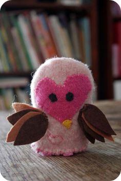 Valentine Owl Tutorial