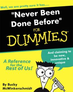 Never been done before? But are you sure? #musicbusinessfordummies covers the content branding to add and the branding to subtract.