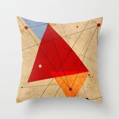 Ancient Cartography Throw Pillow Cover