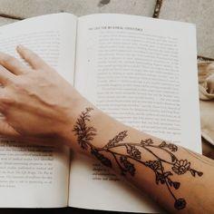 sprig #arm #tattoos: