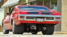 Old school narrowed 70 Chevelle SS!
