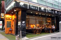 Table-A cafe located in Hongdae, Seoul.   작고 아늑한 느낌~ 홍대 카페 테이블A
