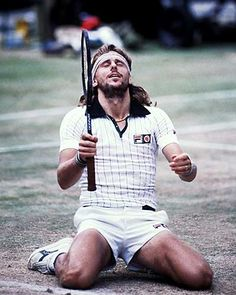 Björn Borg – Won his first Grand Slam title, the French Open, as an 18-year-old, where he had five more victories. Main achievement is his five straight Wimbledon titles. World-first in 109 weeks 1979-81. Considered one of the world's top athletes of all categories.