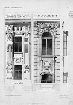 Serie I: Einzelheiten neuer wiener Bauten | Fiedler, L.