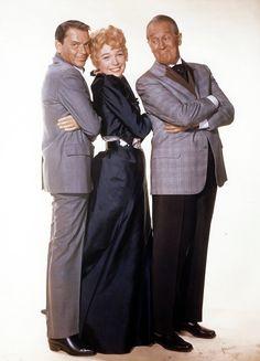 Frank Sinatra, Shirley Maclaine  & Maurice Chevalier