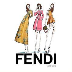 Fendi Resort 2016  @fendi #Fendi