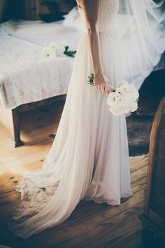 Soft Natural Colours for an Organic Inspired Homemade Wedding