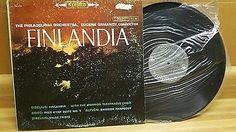 Philadelphia orchestra, Eugene Ormamdy, Conductor Finlandia Record