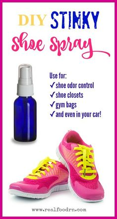 DIY Stinky Shoe Spray | Real Food RN