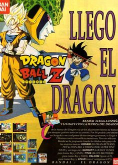 Dragon Ball Z. The Dragon has arrived