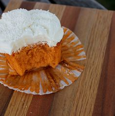 Thai Iced Tea Cupcakes with Condensed Milk Buttercream: steep Thai tea in a mixture of milk and sweet condensed milk to make a cupcake that tastes shockingly like its inspiration.