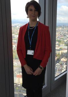 Laura Parisi, trent'anni, oggi vive a Francoforte. «Purtroppo in Italia non c'erano prospettive professionali»