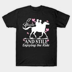 17 years and still enjoying the ride T-Shirt  #birthday #gift #ideas #birthyears #presents #image #photo #shirt #tshirt #sweatshirt