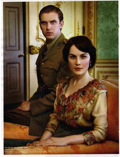 And in color!  Downton Abbey Fashion | khamillion