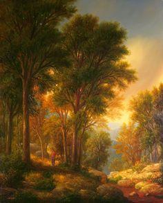 """Homage..."" - Thomas Locker | R.Michelson Galleries"