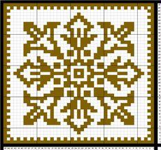 Nok et gratismønster på gryteklut. Denne har jeg kalt (DAMER-for faen) Knitting Charts, Knitting Patterns, Crochet Doilies, Knit Crochet, Graph Paper, C2c, Double Knitting, Embroidery Stitches, Pot Holders